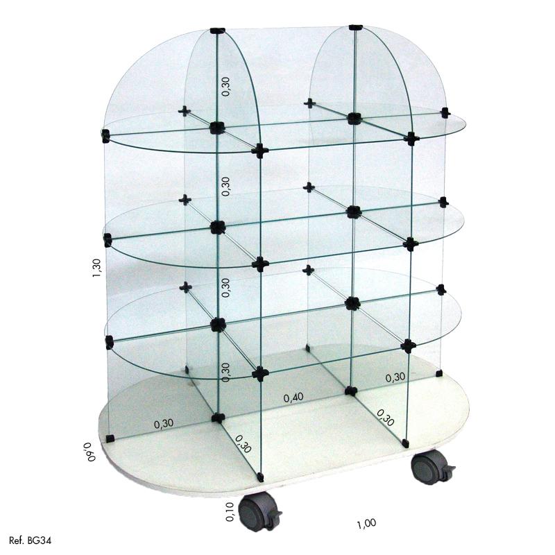 Gôndola de Vidro Modulado Balcãonet